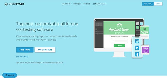 ShortStack Homepage