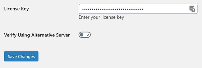 enter modula pro license key