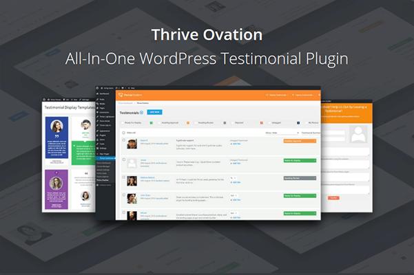 thrive ovation wordpress plugin