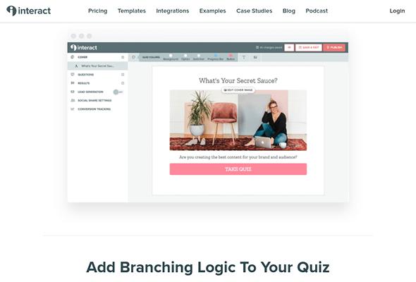 interact quiz maker