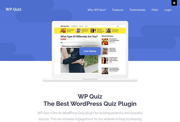 wp quiz pro wordpress plugin