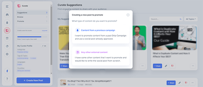 Curate - Find engaging content easily