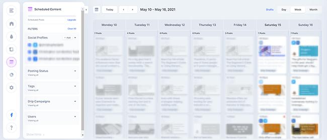 Overview of Missinglettrs calendar
