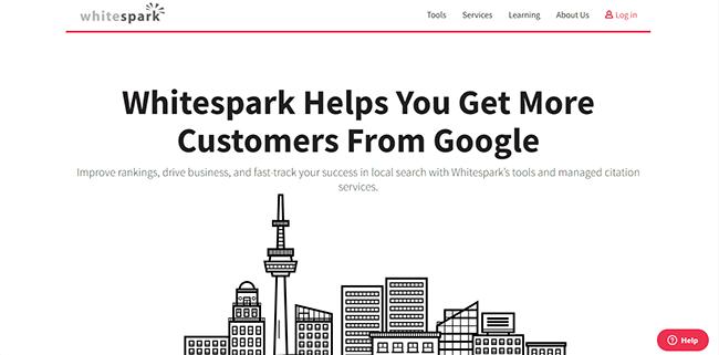 Whitespark Homepage