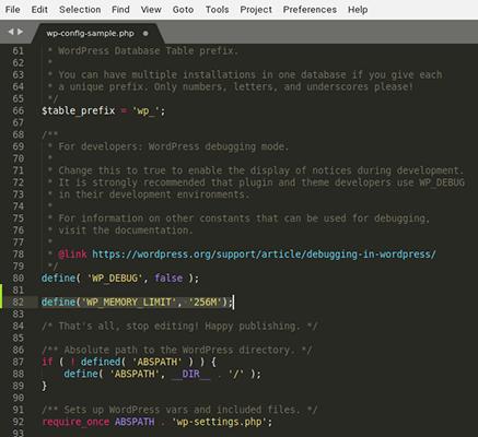 wordpress increase php memory limit