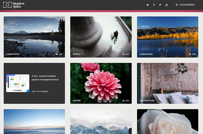 negativespace Best Stock Photo Sites