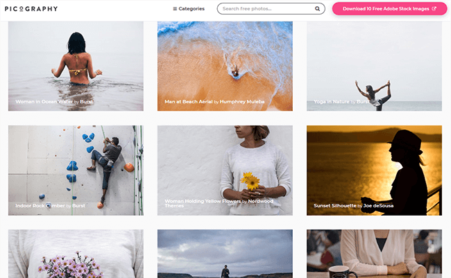picography Best Stock Photo Sites