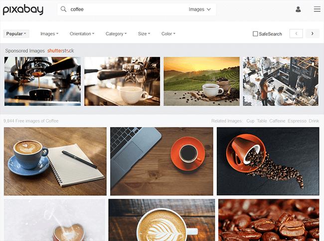 pixabay Best Stock Photo Sites