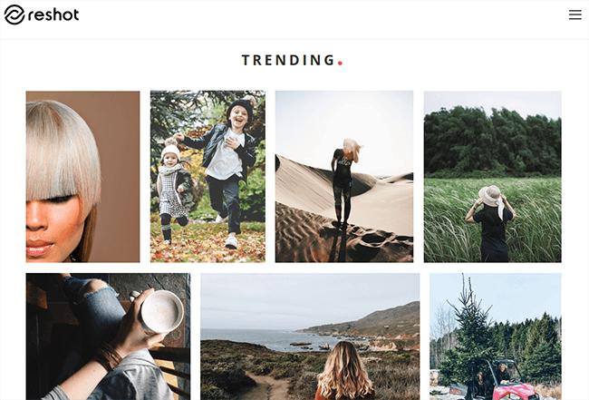 reshot Best Stock Photo Sites