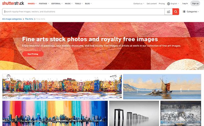 shutterstock Best Stock Photo Sites