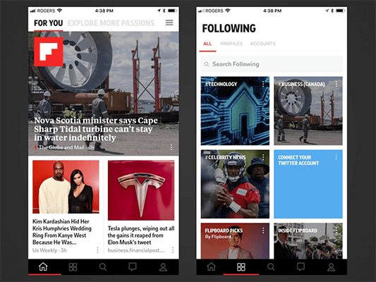 09 Flipboard - news aggregation
