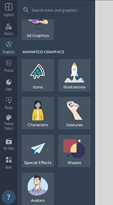14 Graphics tab