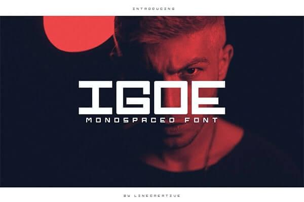 Igoe Monospaced Font