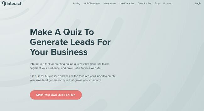 TryInteract Homepage