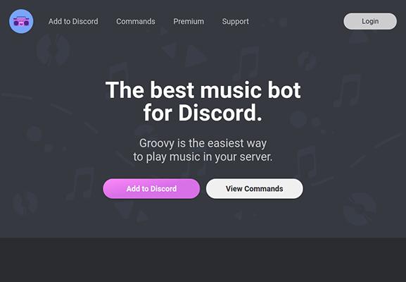 groovy discord bot