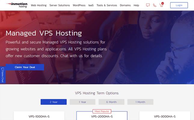 inmotion hosting cloud hosting
