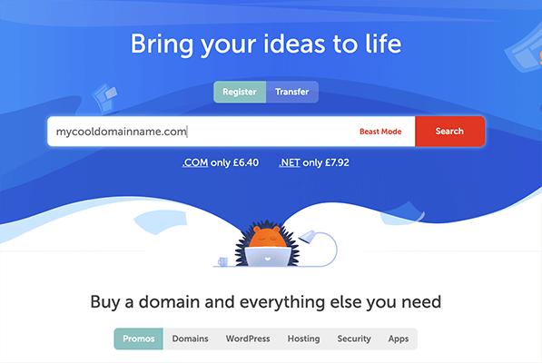 namecheap search domain
