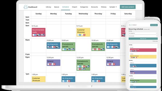 meetedgar social media calendar