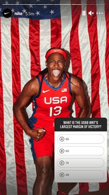 Nike quiz sticker