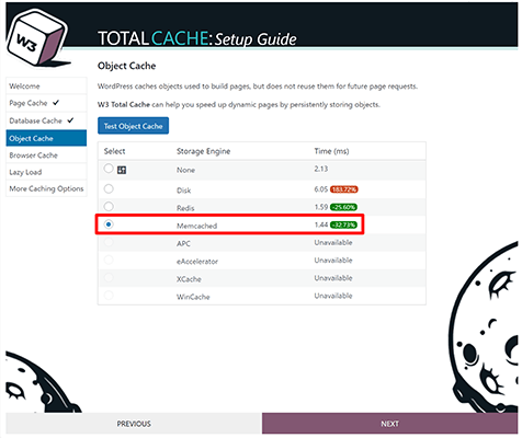 W3 Total Cache 05 - Memcached performed the best