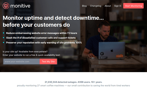 monitive homepage